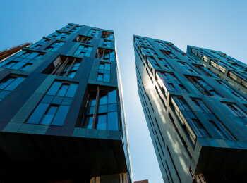 Высота корпусов 6–11 этажей